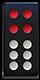 牌九的紅頭十
